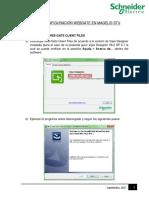 Guía de Configuración Webgate en Magelis STU