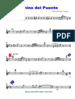 camino del puente2da Trumpet - Partitura completa.pdf