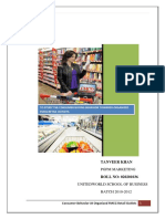 To Study the Consumer Buying Behavior Towards Organised FMCG Retail Outlets_101825762.docx