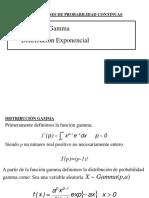 Distribución Gamma y Exponencial