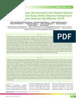 05_255Akurasi Pemeriksaan Ultrasonografi Oleh Residen Obsgin Pada Kasus Seksio Sesarea Emergency