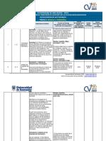 Formato Cronograma Actividades Sistemas E Informatica