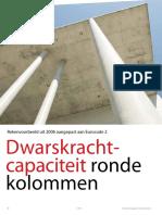 [ARTIKEL] Cement [2015] Dwarskrachtcapaciteit Ronde Kolommen - Rekenvoorbeeld Uit 2006 Aangepast Aan EC2