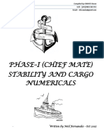 Phase 1 Solved Stability and Cargo Numericals