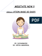 i Can Meditate Now Book 1 1 1