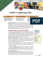 Ch 32 Sec 1 Hitlers Lightning War