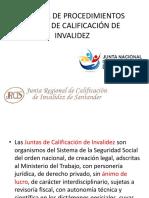 Manual de Procedimientos Juntas de Calificacion de Invalidez