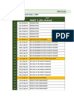 PMP Study Plan According Pmbok 6edition -1