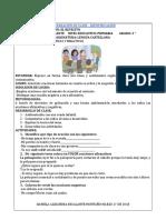 PREPARACIÓN DE CLASE - IDENTIFICACIÓN.