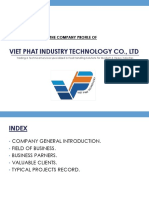 Profile - Viet Phat Industry Technology Jsc