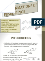Conformations of Fused Rings