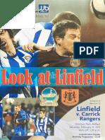 Vol 41 - Linfield v Carrick Rangers 11.02.12