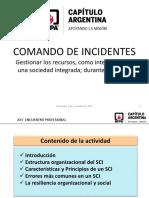 NFPA 1561 Sistema Manejo de Comando