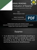 Journal Reading Dyspnea