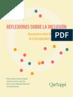 Reflexiones sobre la inclusión