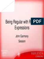 Oow Getting Regular With Regular Expressions