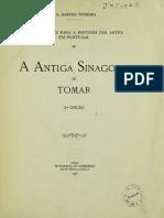 A ANTIGA SINAGOGA DE TOMAR,  Garces Teixeira,  1925
