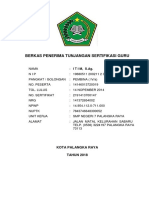 Berkas Penerima Tunjangan Sertifikasi 2016