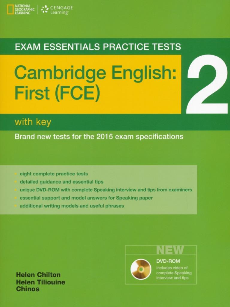 Exam Essentials Practice Tests FCE 2 opt pdf | Question | Dune
