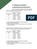 Tarea No 2 Flujo de Efectivo y Planificación Financiera + Técnicas de Preparación de Presupuesto de Capital