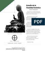 Estudio de La Finalidad Gnostica-l