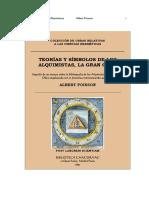 Teorías y Simbolos de Los Alquimistas