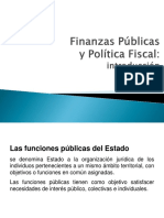 PPT 01 Finanzas Públicas y Economía Del Sector Público