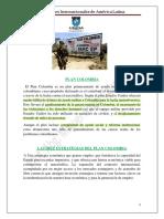 El Plan Colombia