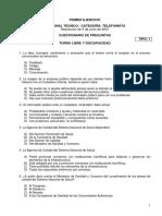 Bl3 Telefonista Cuestionario 9 Libre Discapacidad