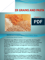 11– Rice, Other Grains and Pasta
