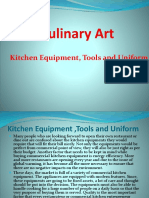 3.0.Kitchen Equipment and Tools