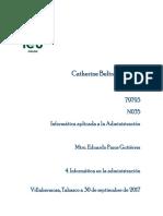 4. Informatica en La Administracion