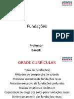 Fundações Aula 1