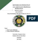 Bab 6. Bagaimana Menyusun Proposal Penelitian Revisi