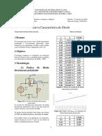 Relatório 01 - Curva Característica Do Diodo