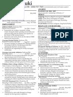 karen suzuki resume