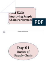 Basics of Supply Chain