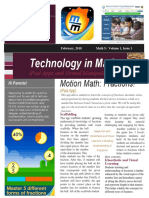 math   tech newsletter