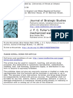 Journal of Strategic Studies Volume 1 Issue 3 1978 [Doi 10.1080_01402397808437004] Reid, Brian Holden -- J. F. C. Fuller's Theory of Mechanized Warfare