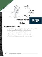 Numeracion Maya 5to Grado