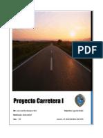 Proyecto carretera I