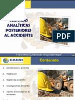 Tecnicas Analiticas Post Accidente