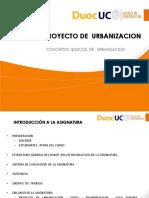 Conceptos Básicos de Urbanización
