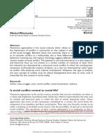 Wieviorka. Social Conflict.pdf