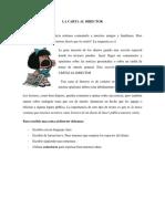 La Carta Al Director Guía 1