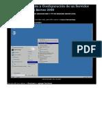 Manual Instalación y Configuración de Un Servidor WEB en Windows Server