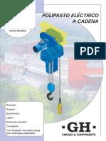 GH 06 Polipasto Cadena 2016
