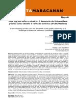 GUIMARÃES, Géssica. O desmonte da universidade como lugar para reflexão.pdf