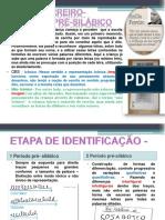 Identificação Dos Níveis Silábicos Emília Ferreiro