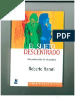 Harari Roberto-el Sujeto Descentrado